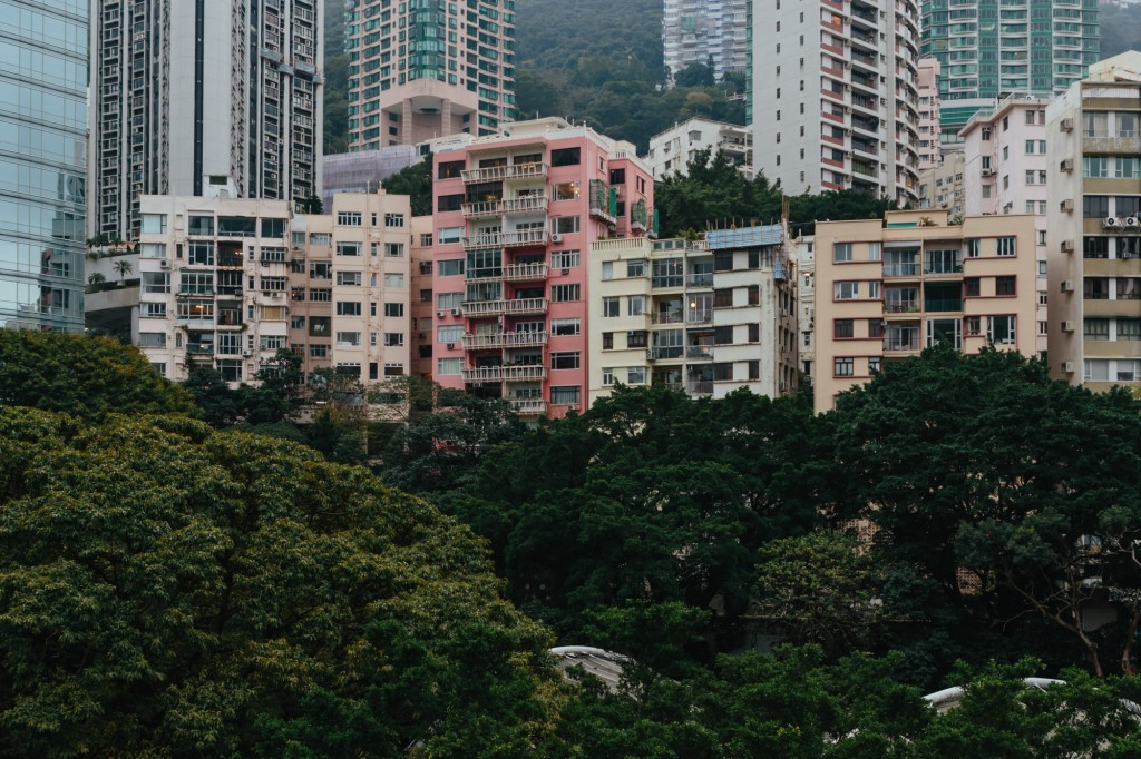 Hong Kong Park view