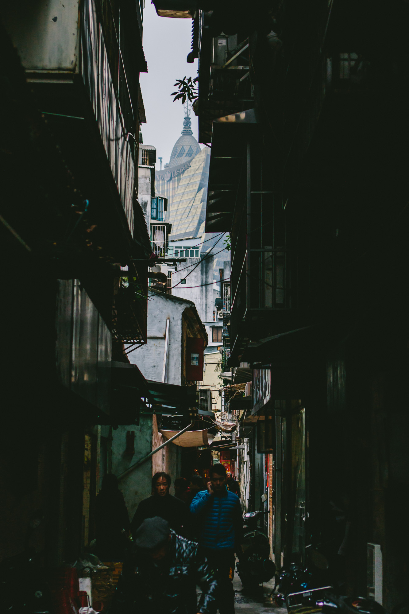Alleyway in Macau