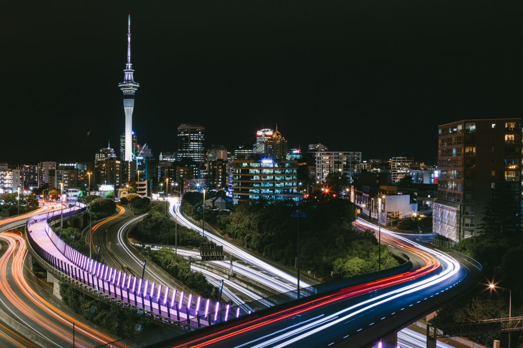 auckland night time
