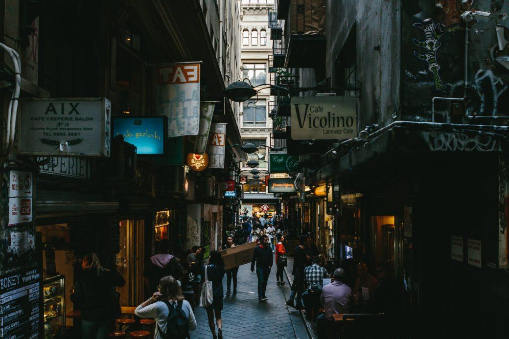 Melbourne Centre Lane Allyway