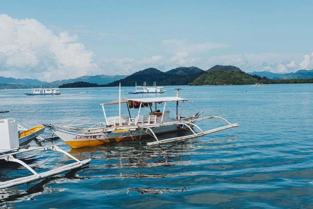 Coron port, Palawan, Philippines
