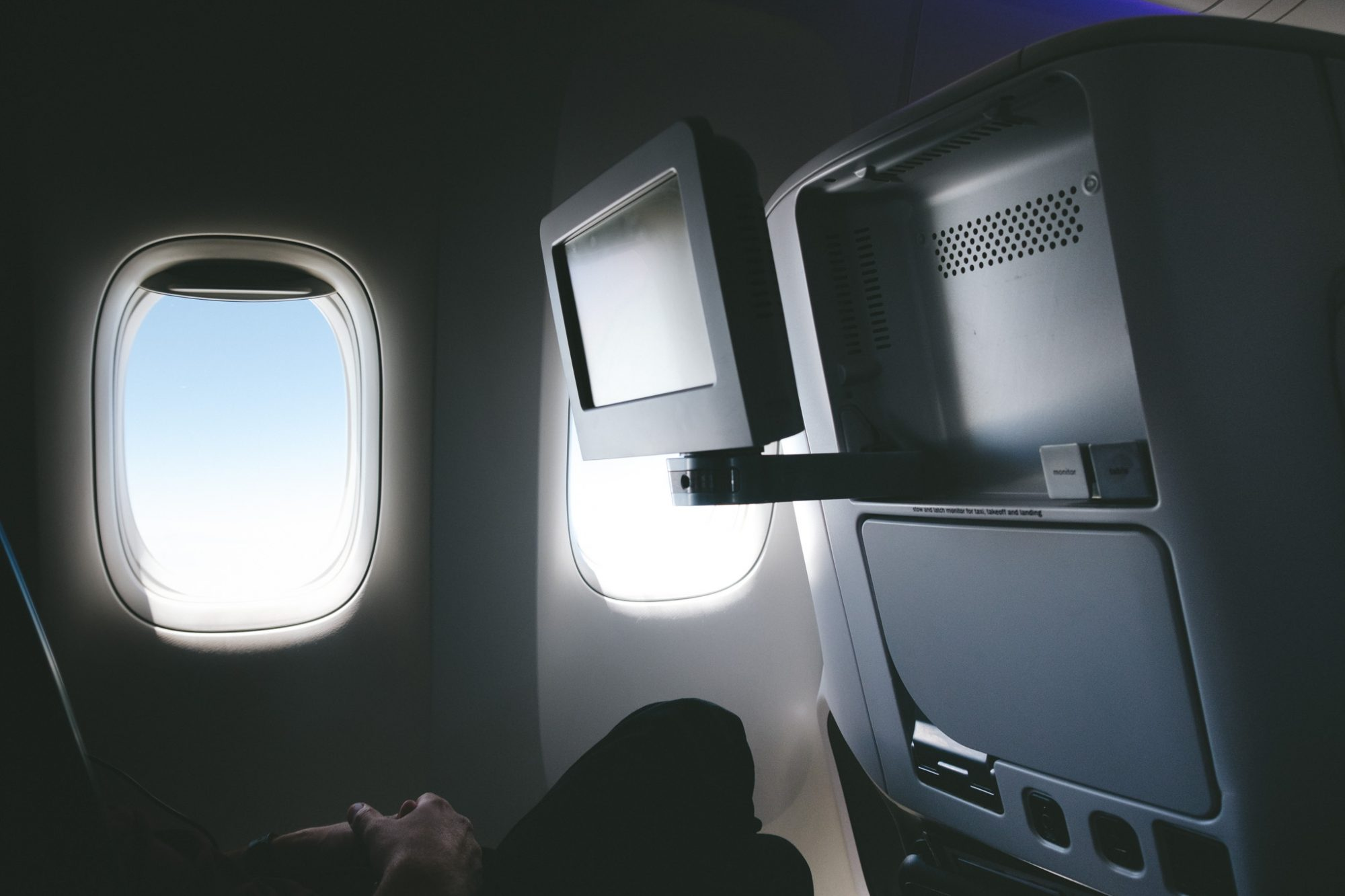 Air New Zealand Premium Economy Screen