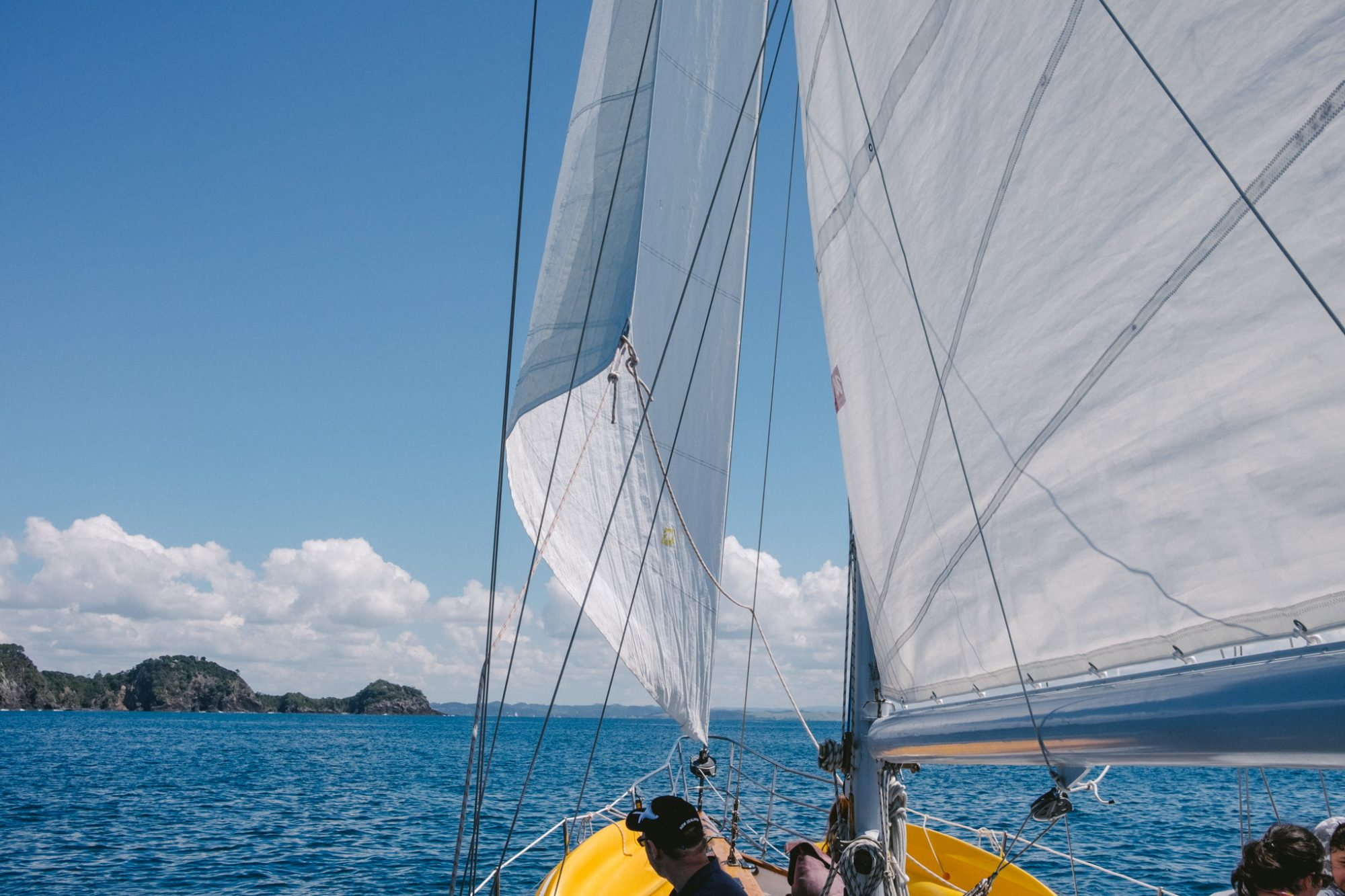 Vigilant Yacht Charter Bay of Islands Paihia Russell Wharf