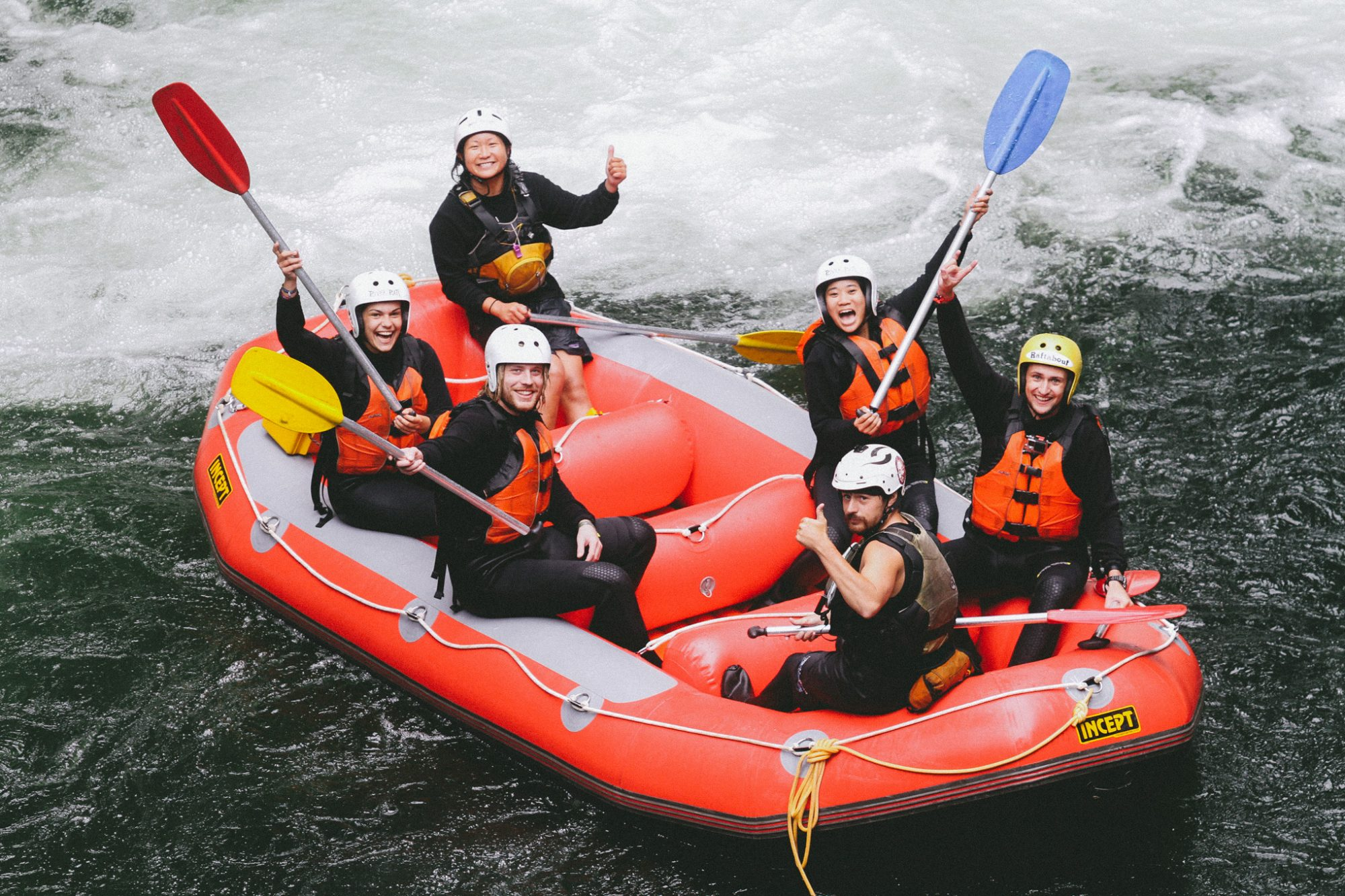 River Rats Rafting - White water rafting North Island, New Zealand