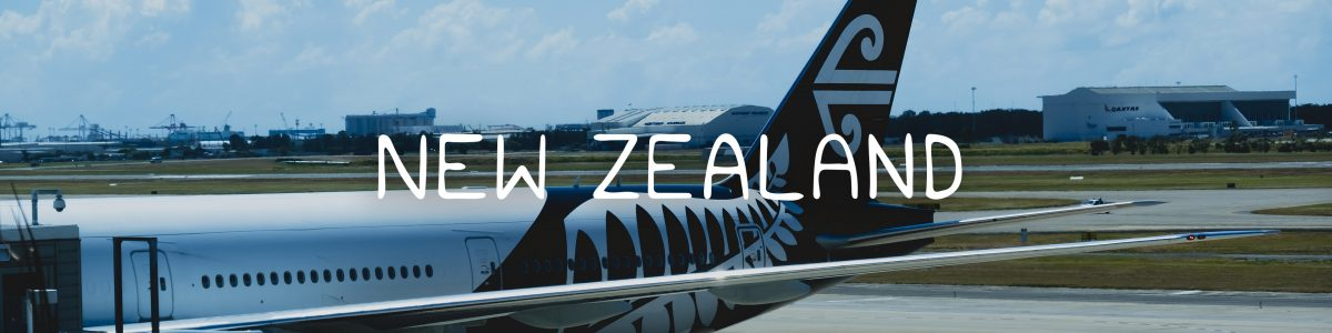 New Zealand Road Trip Itinerary — Flight with Air New Zealand