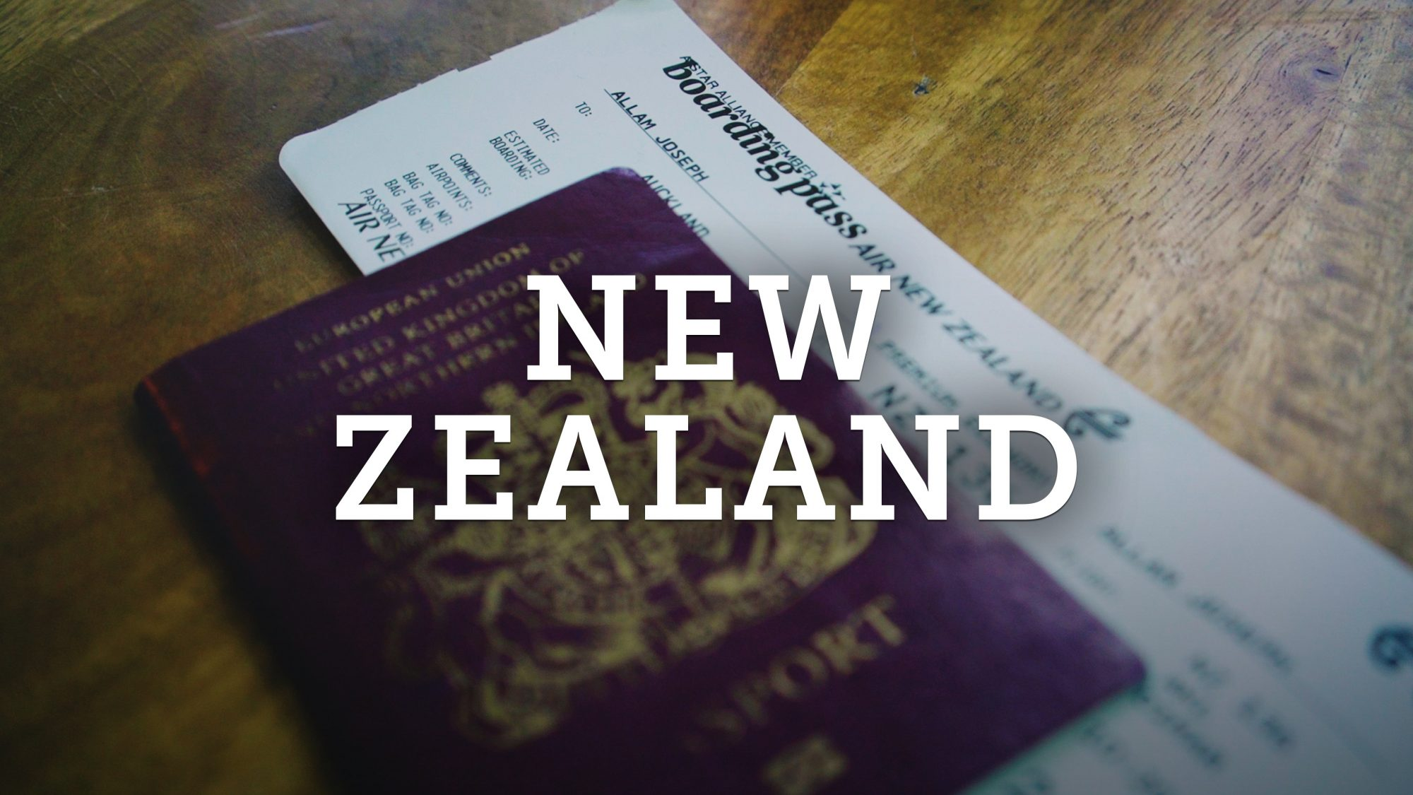 Air New Zealand Flight Travel Vlog