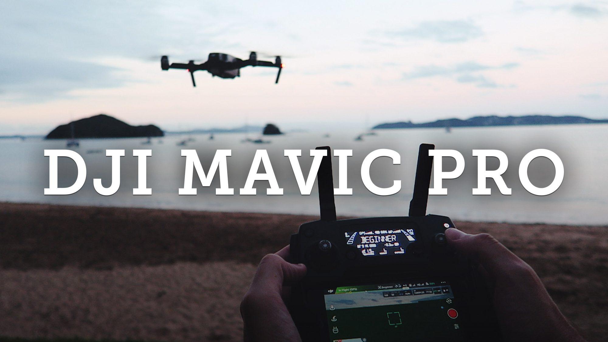 DJI Mavic Pro First time flying a drone