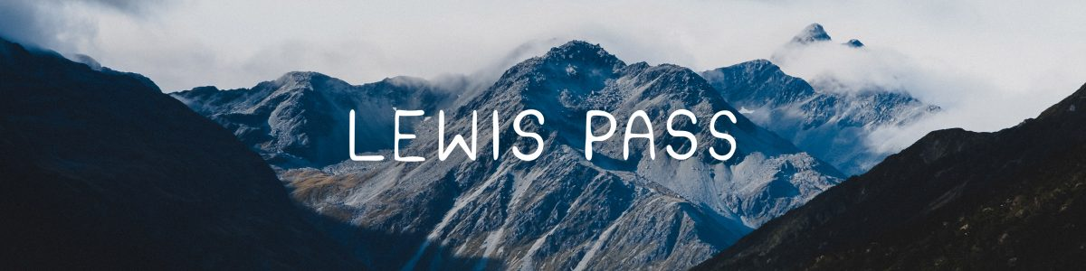 Lewis Pass, New Zealand
