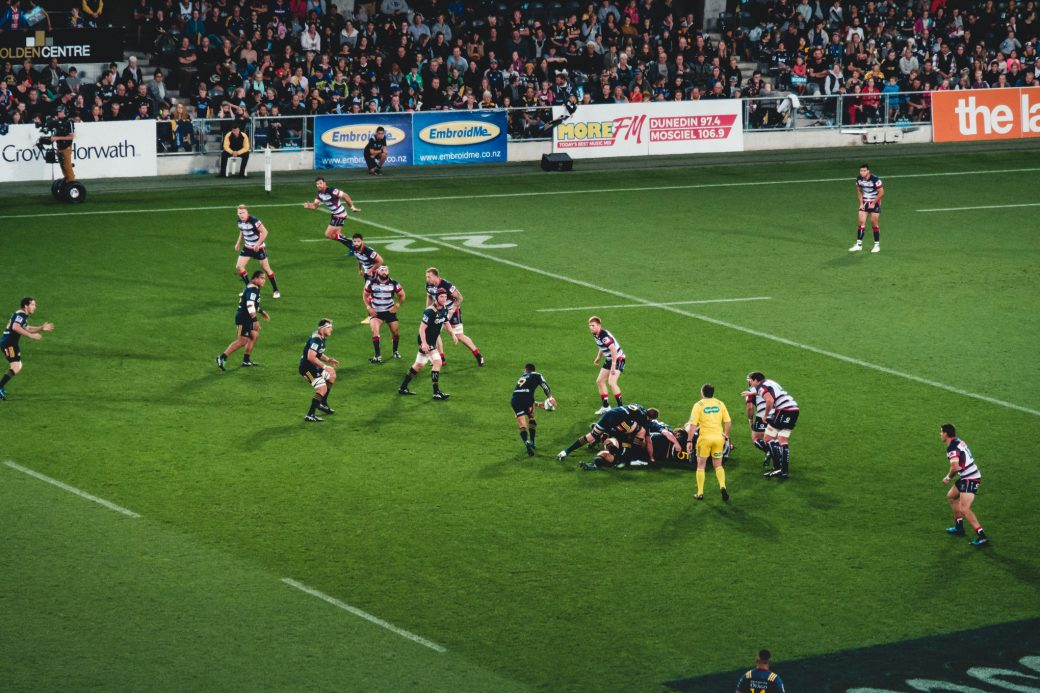Super Rugby at the Forsyth Barr stadium – Highlanders vs Rebels