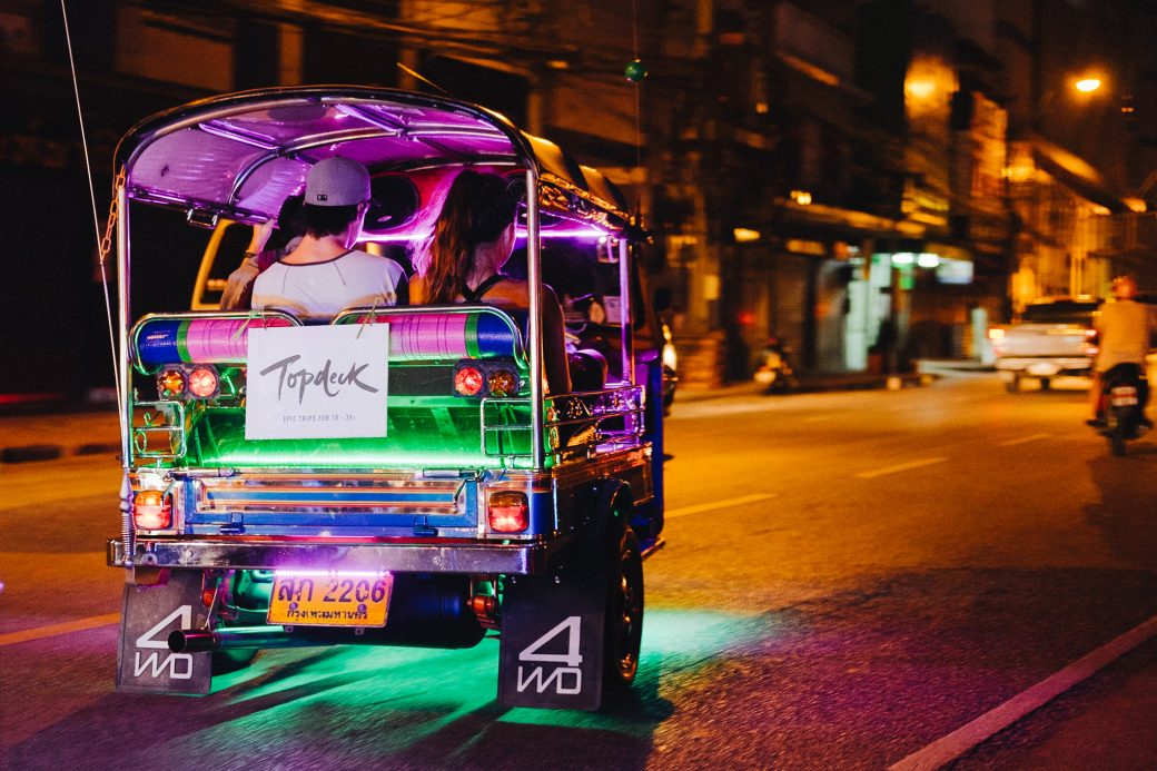 Topdeck Bangkok Street Tour