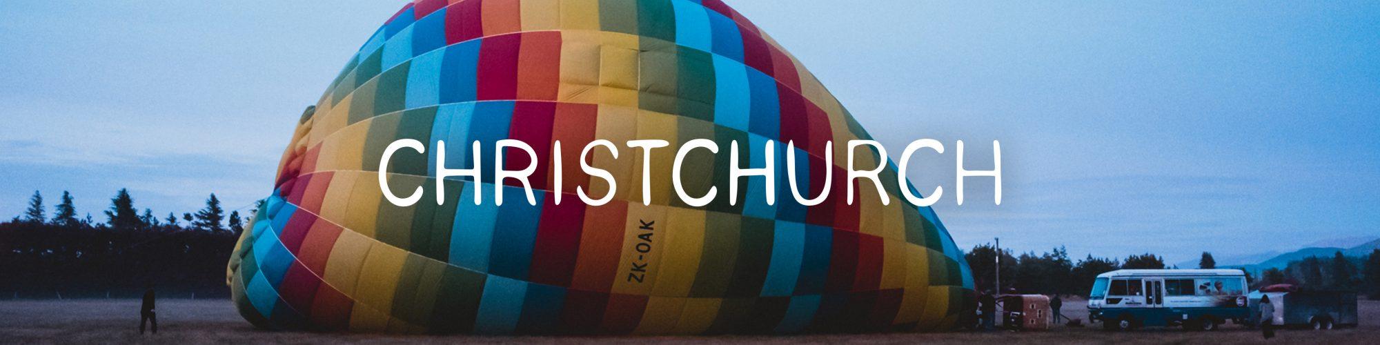 Ballooning Canterbury, Christchurch