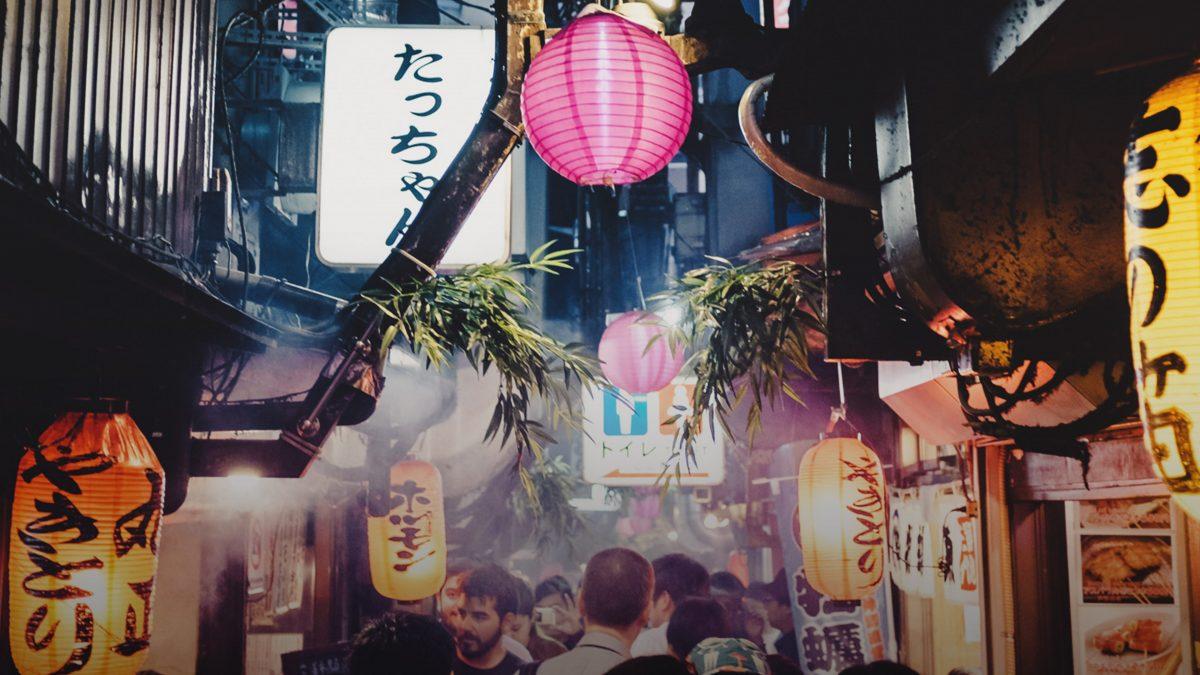 Street Photography vlog at night around Tokyo Japan with Shoottokyo