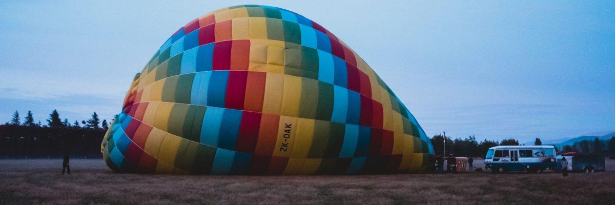 Canterbury, Hot Air Balloon New Zealand