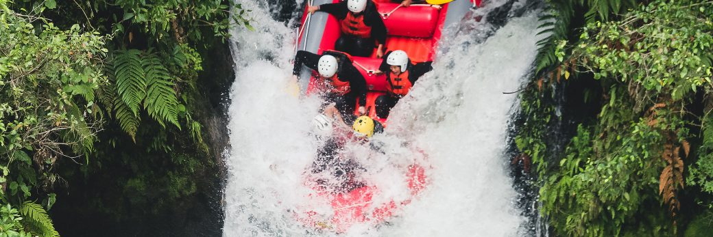 White Water Rafting and Where to Stay in Rotorua