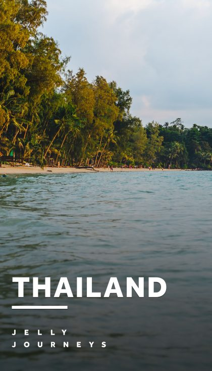 Thailand — Thailand: This is how to stop, relax and do nothing. Check out what we got up during a month in Thailand with visits to Koh Kood, Bangkok and Pattaya in our new vlog and series of photos! — Jelly Journeys
