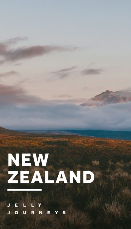 New Zealand Campervan Road Trip Part I: North Island — New Zealand had a lot to live up. Spoiler alert: It smashed it. Catch all our photos and info on the places we visited in the North Island! — Jelly Journeys