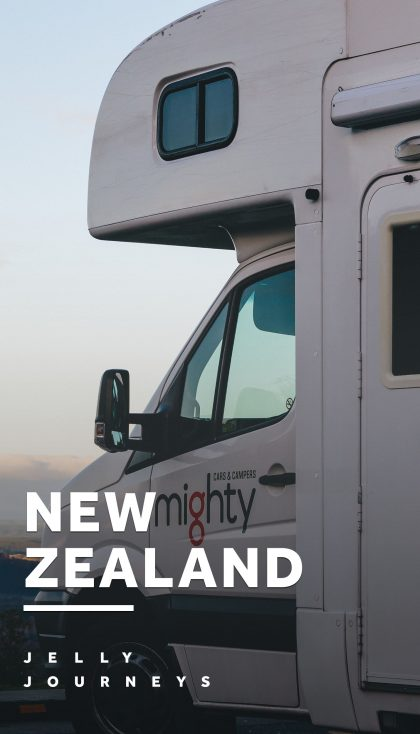 How to Road Trip Around New Zealand in a Campervan — Campervans were literally made for New Zealand! Read through our tips + itinerary of all the places we visited on our 3 week road trip! — Jelly Journeys