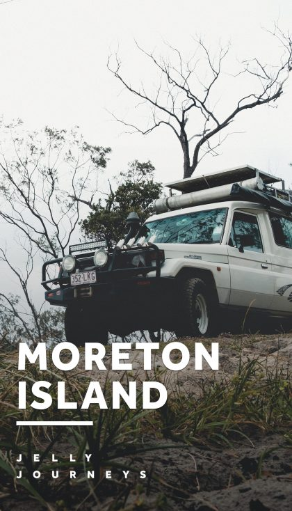 A 4WD Adventure: Camping on Moreton Island — An incredible night camping on Moreton Island — the third largest sand island in the world — with a 4x4. — Jelly Journeys
