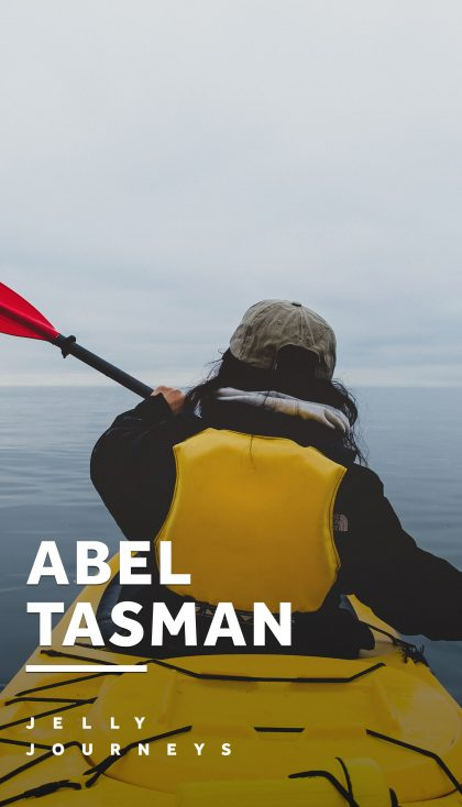 Abel Tasman National Park: Kayaking Adventure and Friendliest Backpackers Hostel — Photos and vlog of what backpackers hostel to stay in near the Abel Tasman National Park and where to go kayaking! — Jelly Journeys