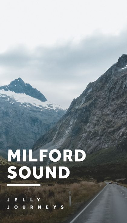 Epic Nature, Super Rugby and 4x4ing — Milford Sound, Dunedin and Mount Cook — A cruise through the beautiful Milford Sound, Super Rugby in Dunedin and 4x4ing in Mount Cook Village — Epic nature and adventures touring the South Island of New Zealand — Jelly Journeys