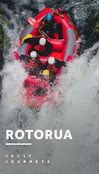 White Water Rafting and Where to Stay in Rotorua — What to do in Rotorua, New Zealand: White water rafting with the River Rats, exploring the Redwoods, staying in a log cabin next to the lake. — Jelly Journeys