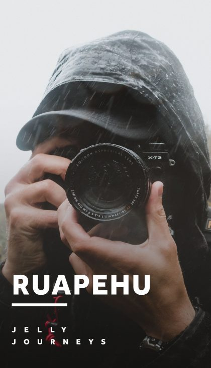 Breaking Cameras in the Rain: Taranaki Falls + Whanganui, Ruapehu — Explore Mount Ruapehu with a walk to Taranaki Falls, jet boating up the Whanganui River with Canoe Safaris and hike to the Bridge to Nowhere. — Jelly Journeys