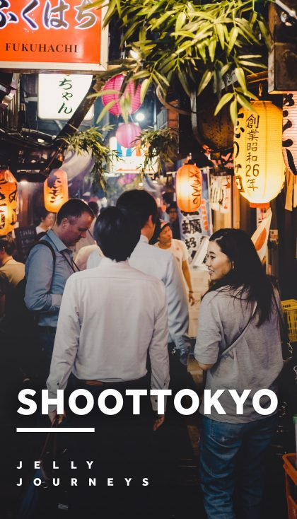 An evening with ShootTokyo — Night Street Photography, Tokyo — Team Leica vs. Team Fujifilm — Follow our street photography evening with Dave from ShootTokyo and his friend Steve, wandering around Shimokitazawa, Kichijoji and eventually ending up in Golden Gai, Shinjuku. — Jelly Journeys
