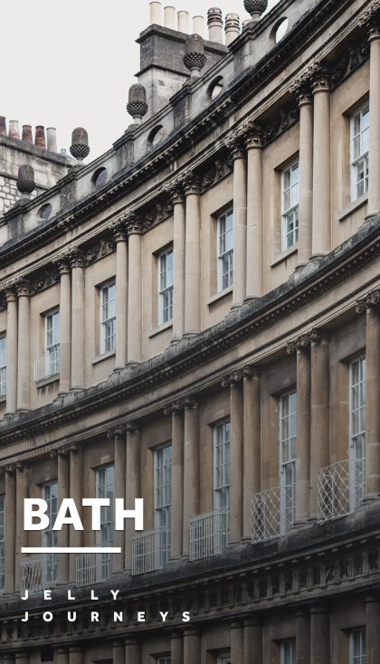Bath — Exploring the beautiful city of Bath, capturing photos of all the limestone buildings and quaint cobbled streets. — Jelly Journeys