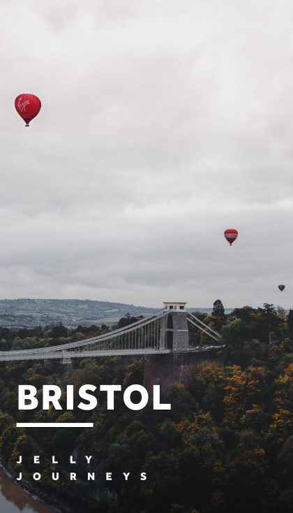 Bristol — Exploring Joe's home city of Bristol, during a rare early morning photo mission! Given that we're notoriously known as night owls, we made the extra special effort to visit the Clifton Suspension Bridge for some sunrise shots of the city. — Jelly Journeys