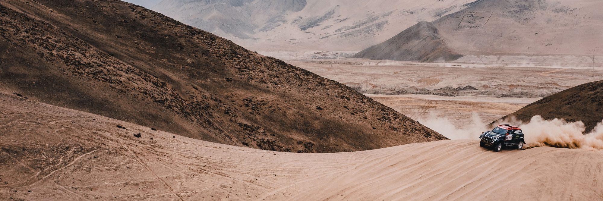 Dakar Rally 2018 — Peru with MINI X-Raid