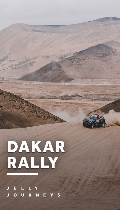 Dakar Rally 2018 — Peru — Kicking things off big to the start the year; a new country and a new continent! Within the first few days of 2018, we flew off to Peru to catch the opening of the 40th annual Dakar Rally. — Jelly Journeys