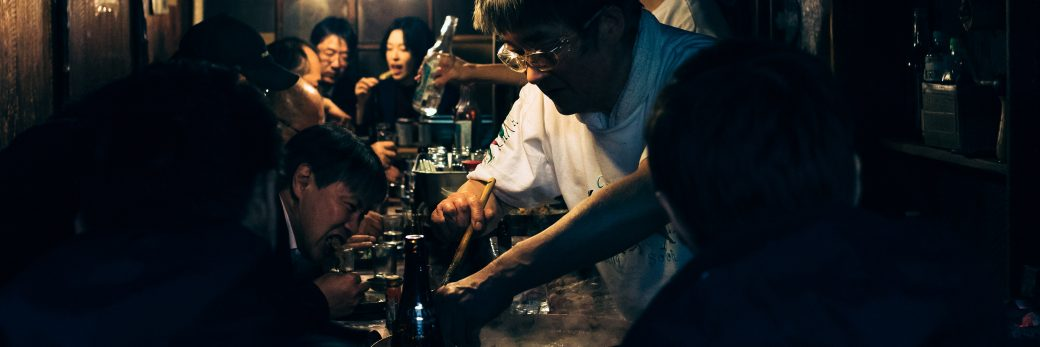 Shinjuku Night Photography — Yakitori Alley
