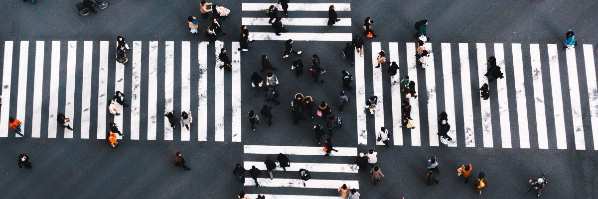 Ginza Crossing, Tokyo Japan