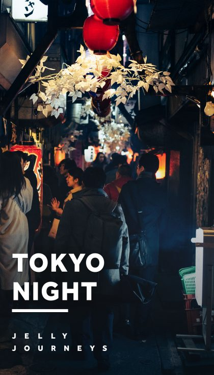Shinjuku Night Photography: Yakitori Alley and Kabukicho — Heading into Shinjuku at peak-time on a Friday, making one of our favourite vlogs yet, and testing ourselves with night photography around the streets of Kabukichō and Yakitori Alley (Omoide Yokochō). — Jelly Journeys
