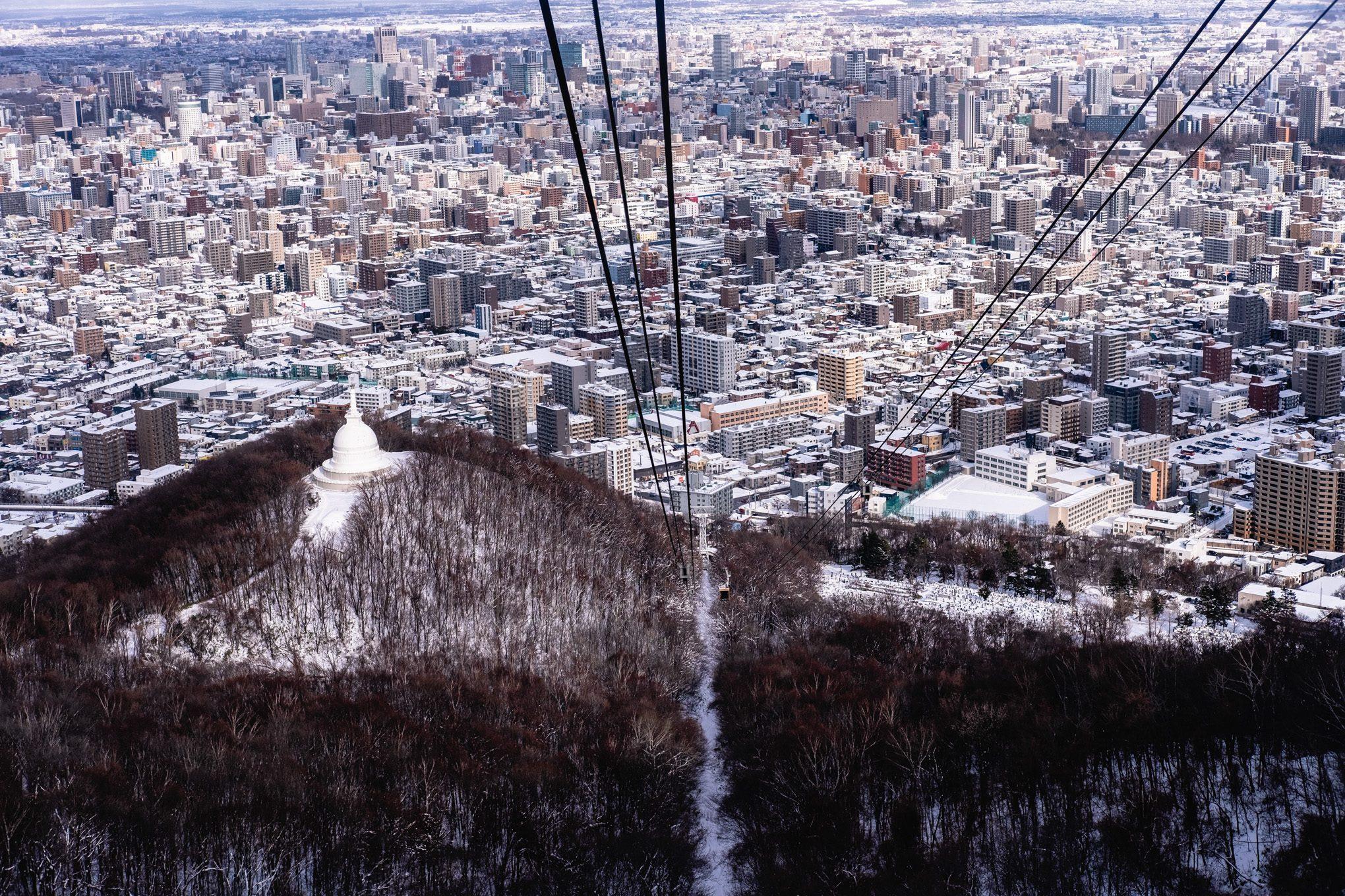 Mt Moiwa Ropeway, Sapporo