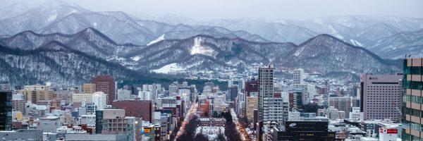 Sapporo TV Tower view of the city